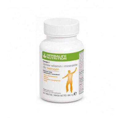 Multiwitaminy Herbalife dla Mężczyzn