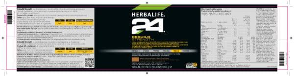 Rebuild strenght Herbalife skład