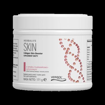 Collagen Skin Booster o smaku truskawkowo-cytrynowym