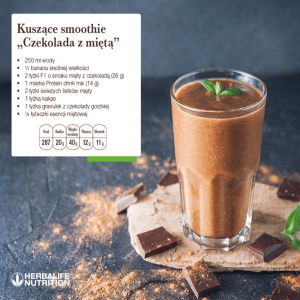Koktajl odżywczy Herbalifeo smaku delikatnej czekolady 550 g
