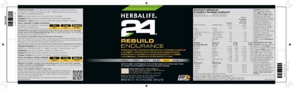 Rebuild endurance skład